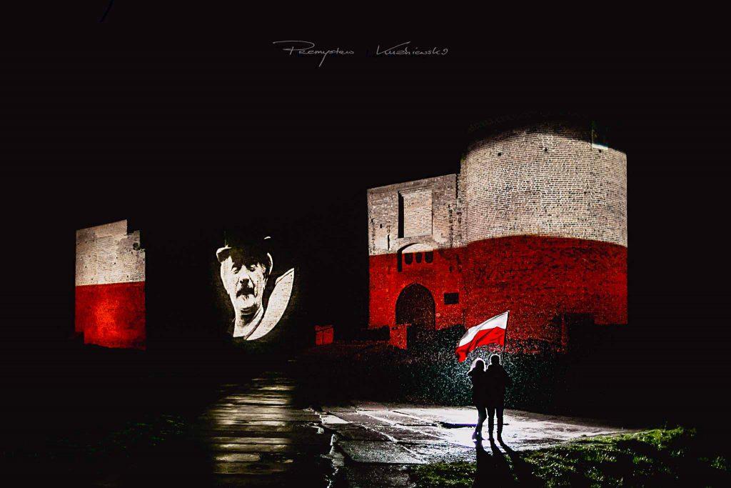 Zamek Książąt Mazowieckich w Ciechanowie Niepodległość