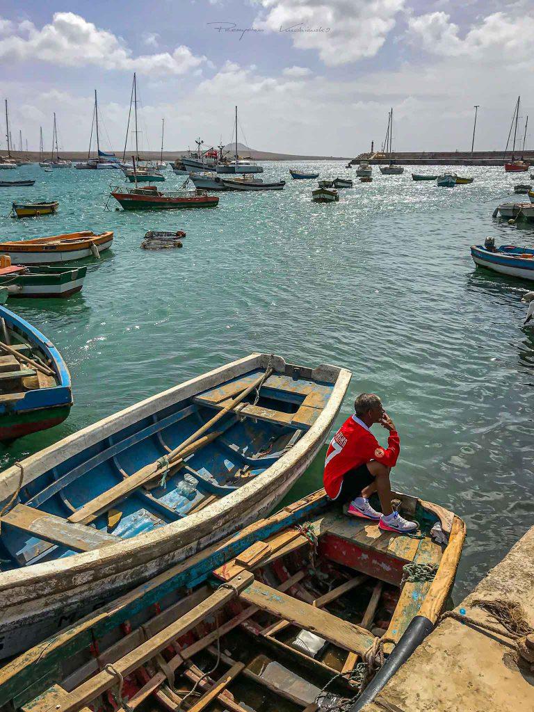 Palmeira port Sal Wyspy Zielonego Przyladka pmk